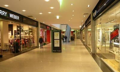 Elektroanlage im Einkaufszentrum